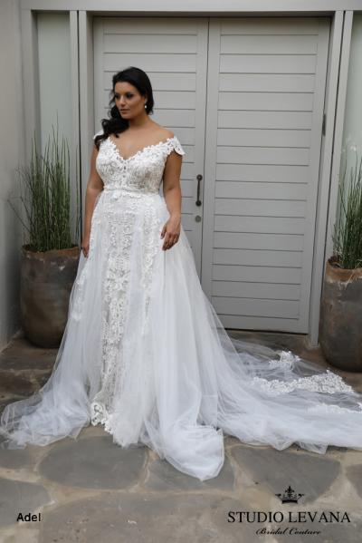 Plus size wedding gowns 2018 Adel (2)