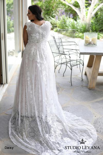 Plus size wedding gowns 2018 Daisy (1)