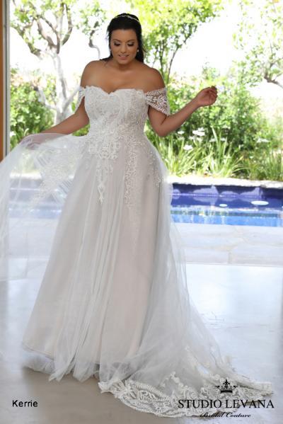 Plus size wedding gowns 2018 Kerrie (2)