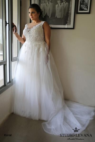 Plus size wedding gowns 2018 Koral (5)