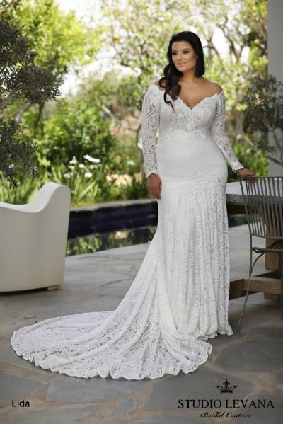 Plus size wedding gowns 2018 Lida (2)
