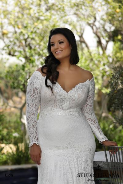 Plus size wedding gowns 2018 Lida (3)