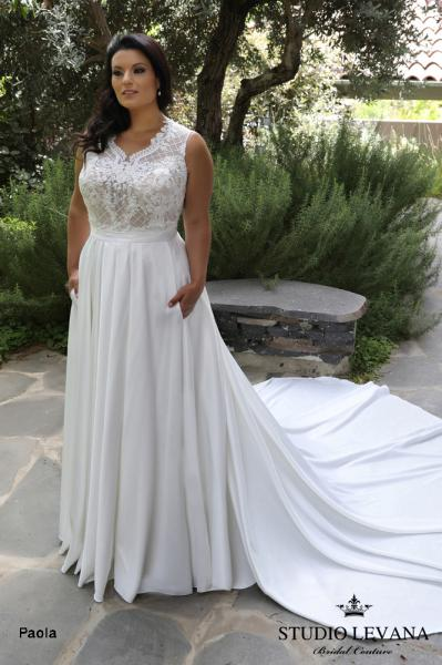 Plus size wedding gowns 2018 Paola (1)