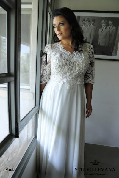 Plus size wedding gowns 2018 Paola (3)