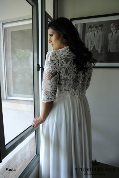Plus size wedding gowns 2018 Paola (4)