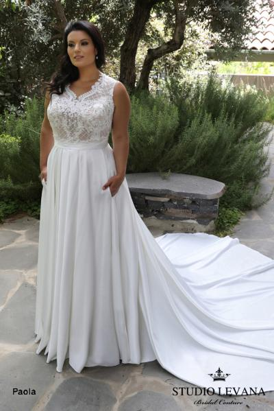 Plus size wedding gowns 2018 Paola (8)