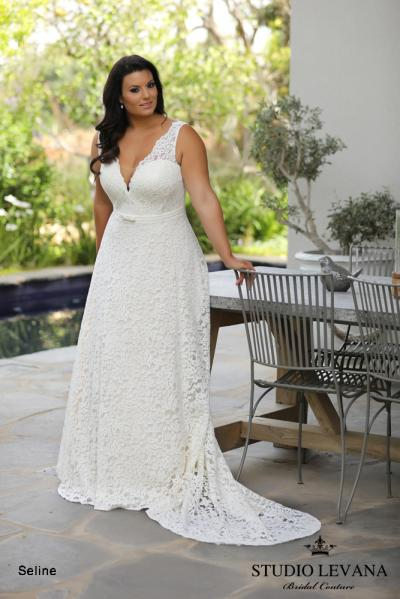 Plus size wedding gowns 2018 Seline (1)