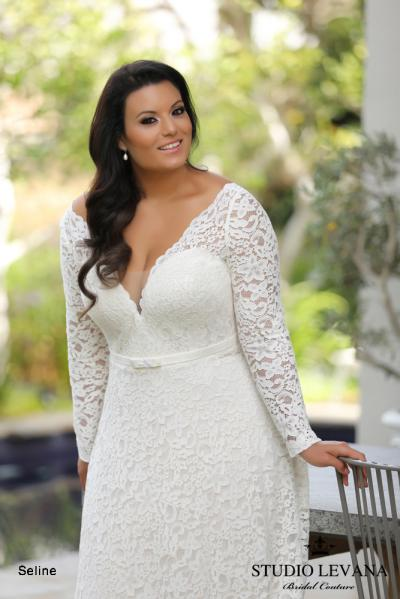Plus size wedding gowns 2018 Seline (3)