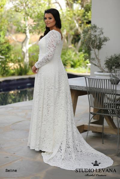 Plus size wedding gowns 2018 Seline (4)