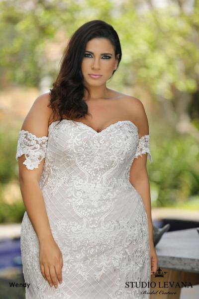 Plus size wedding gowns 2018 Wendy (4)