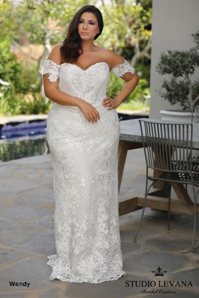 Plus size wedding gowns 2018 Wendy (5)