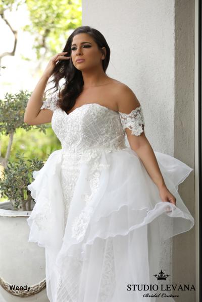 Plus size wedding gowns 2018 Wendy (6)