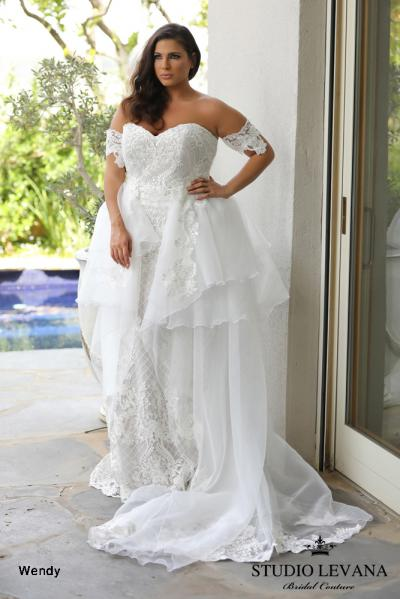 Plus size wedding gowns 2018 Wendy (8)
