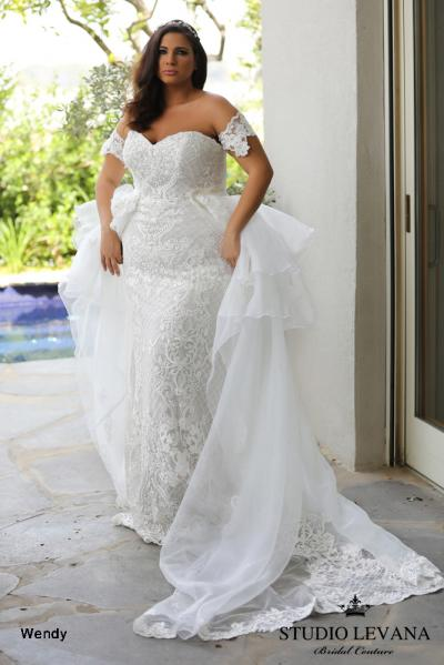 Plus size wedding gowns 2018 Wendy (9)