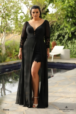 plus size evening gowns Donna (1)