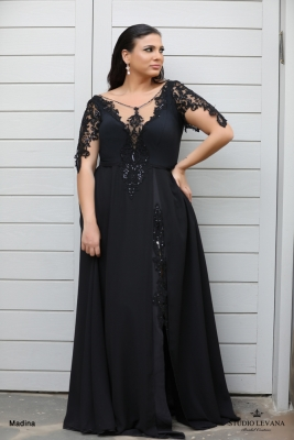 plus size evening gowns Madina (1)