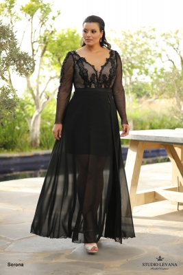 plus size evening gowns Sorona (2)