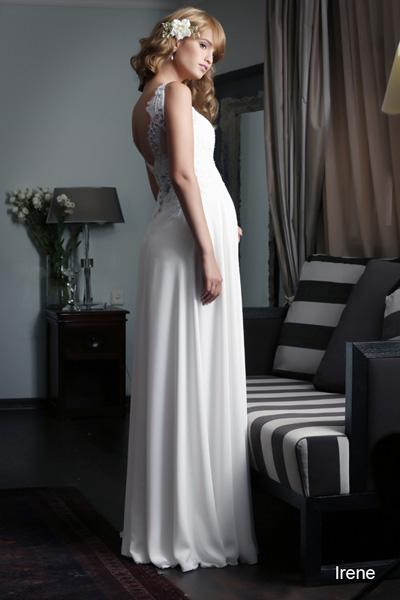 Pregnant wedding gowns 2015 irene (3)