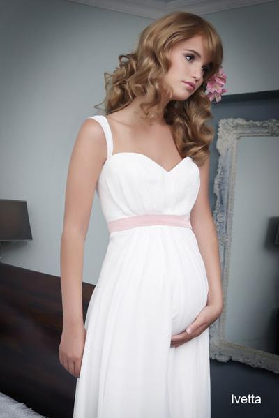Pregnant wedding gowns 2015 ivetta (1)