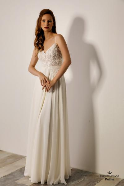 Israely wedding designer infinty collection Polina (2)