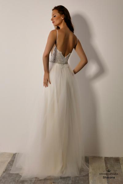 Israely wedding designer infinty collection Sharona (4)