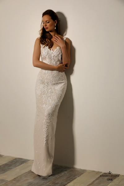 Israely wedding designer infinty collection Una (2)