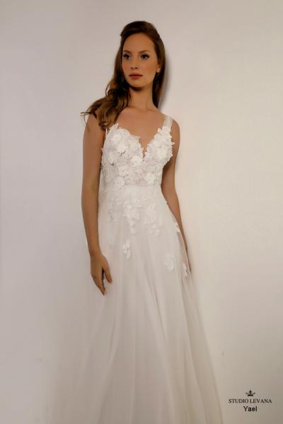 Israely wedding designer infinty collection Yael (3)