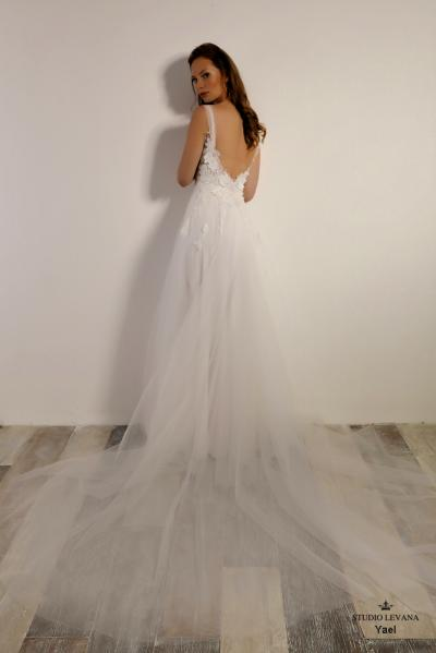 Israely wedding designer infinty collection Yael (4)