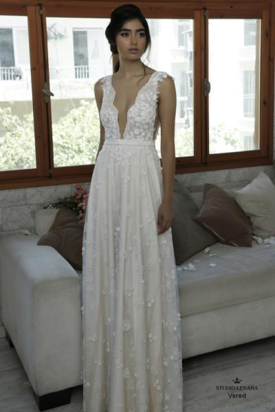 Beautiful wedding gowns 2016 vered (2)
