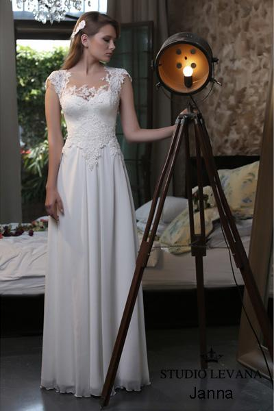 Modest wedding gown Pastel collection  (2)