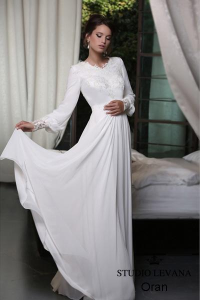 Modest wedding gown Pastel collection  (20)