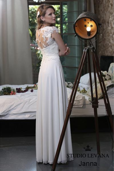 Modest wedding gown Pastel collection  (3)