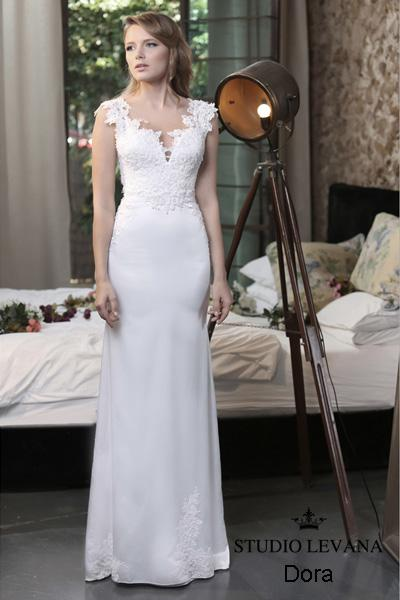 Modest wedding gown Pastel collection  (4)
