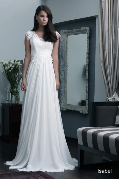 Modest wedding gowns 2015 isabel (4)