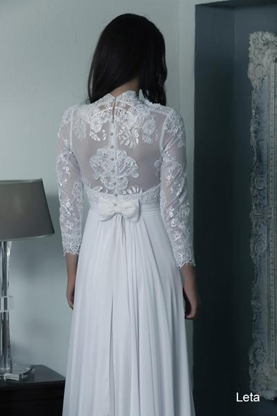 Modest wedding gowns 2015 leta (1)