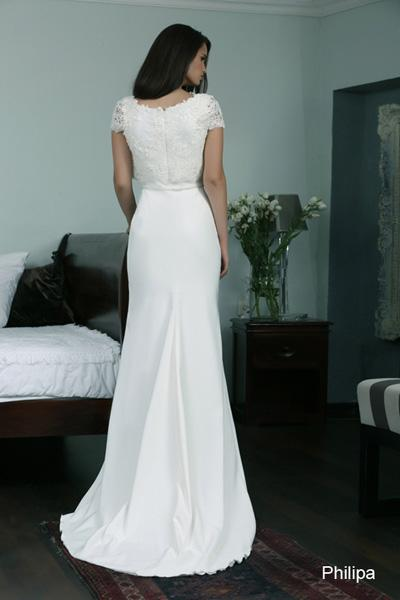 Modest wedding gowns 2015 philipa (1)