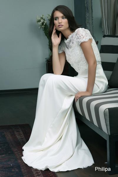 Modest wedding gowns 2015 philipa (3)