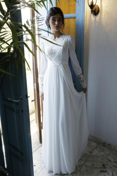 Modest wedding gowns 2016 batel (2)