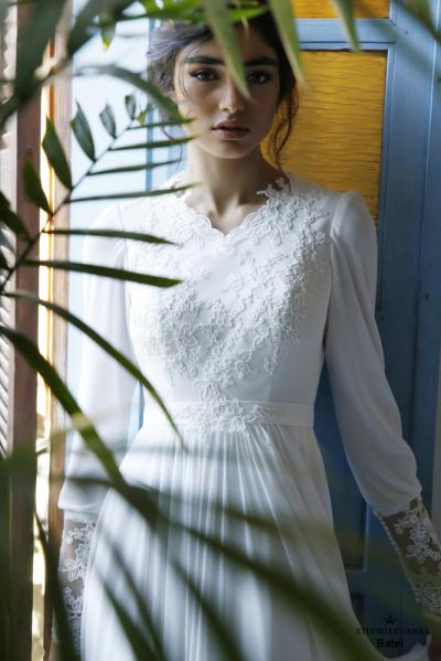 Modest wedding gowns 2016 batel (3)