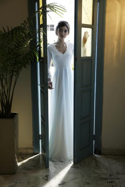 Modest wedding gowns 2016 leah (2)