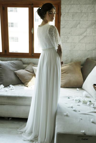 Modest wedding gowns 2016 osher (1)
