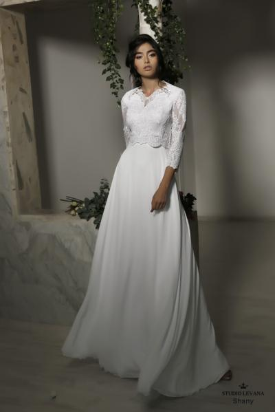 Modest wedding gowns 2016 shany (2)