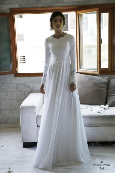Modest wedding gowns 2016 sol (4)