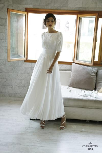 Modest wedding gowns 2016 tina (2)