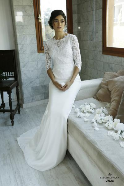 Modest wedding gowns 2016 varda (1)