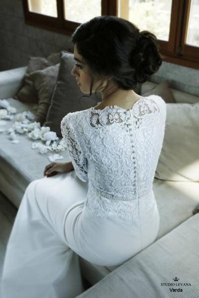 Modest wedding gowns 2016 varda (2)