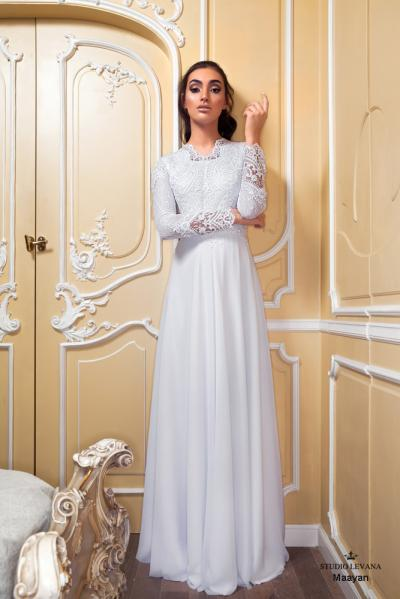 Modest wedding gowns 2017 maayan (3)