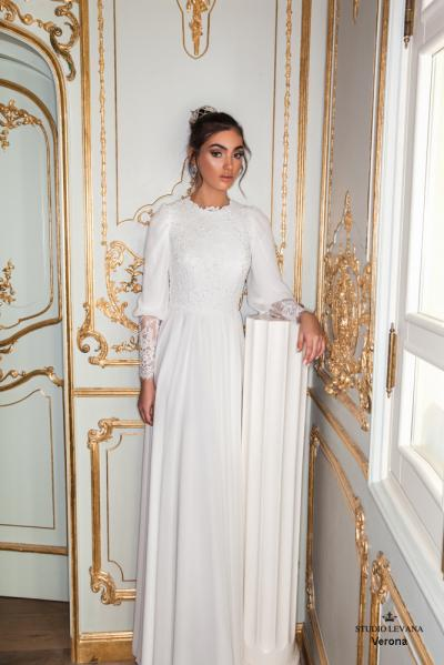 Modest wedding gowns 2017 verona (3)