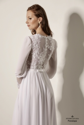 Modest wedding gowns 2018 Penelope (4)