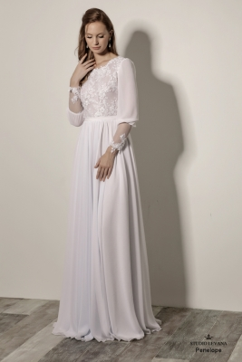 Modest wedding gowns 2018 Penelope (5)